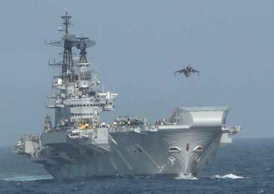 インド空母(1)