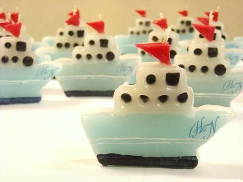 船のキャンドル