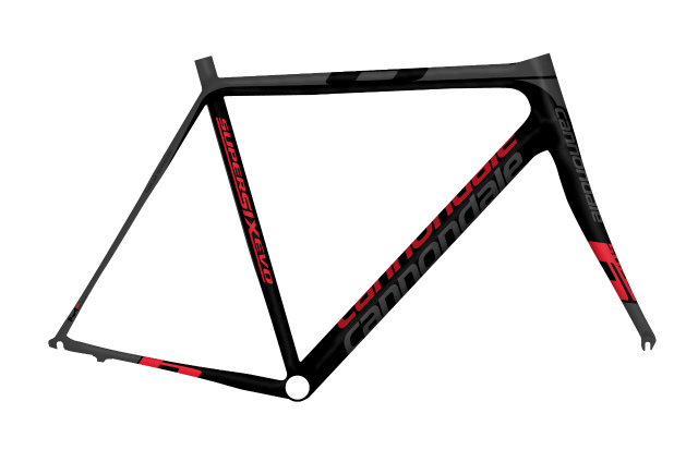 supersix evo frame set, di2_crb