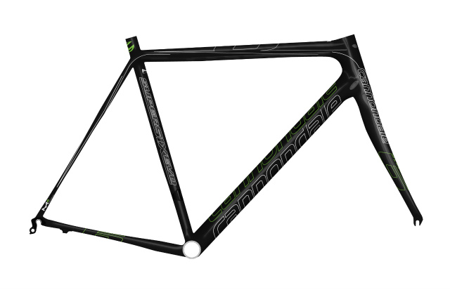 supersix evo frame set_blk