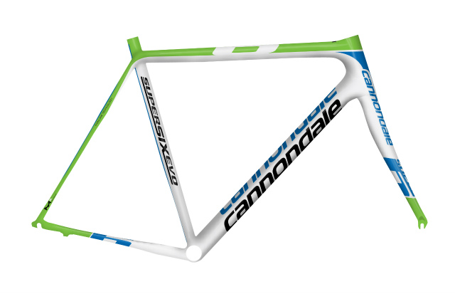 supersix evo frame set_liq