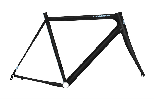 supersix evo frame set, black edition_ble