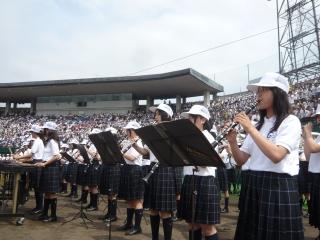 071001高校野球開会式の日