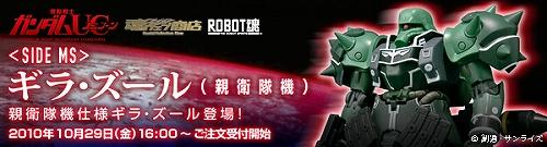 ROBOT魂 ギラ・ズール(親衛隊機)b