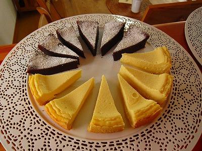 チーズタルトとショコラ