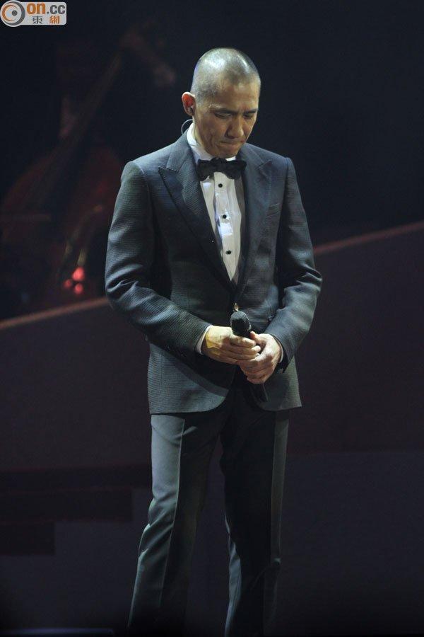 トニー・レオン@アニタ・ムイ追悼コンサート3