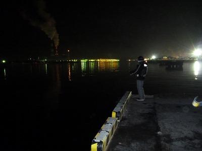 8夜の西港