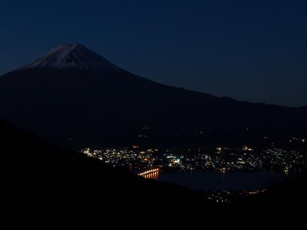 富士の夜景(1)
