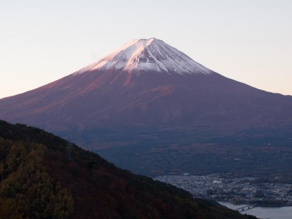 富士の夜景(2)