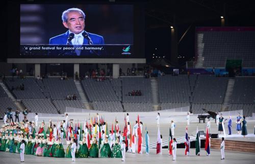 仁川アジア大会 開会式