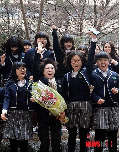 韓国 女子高生 ブサイク1