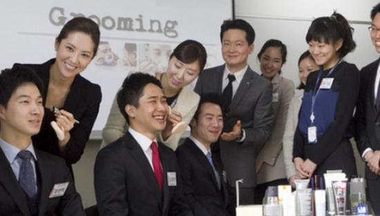 韓国 男性 化粧