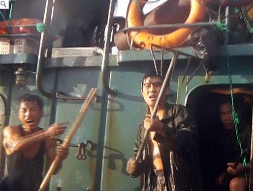 中国人漁船員 韓国海洋警察1