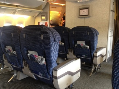 ANA765便 搭乗しました