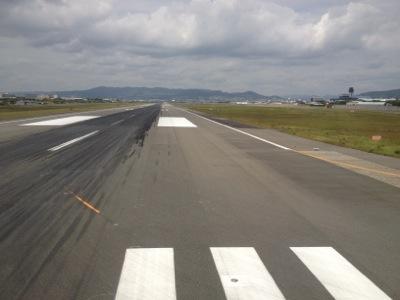 ANA765便 離陸直前の様子