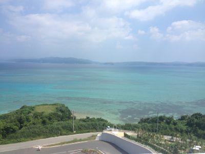 海方面の景色