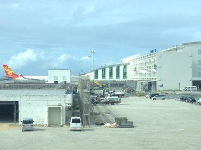リニューアルされた那覇空港国際線ターミナル