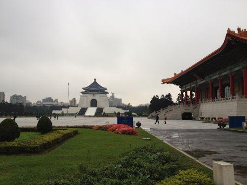 国立劇場と中正記念堂