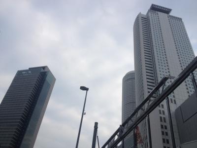 名古屋市内の様子