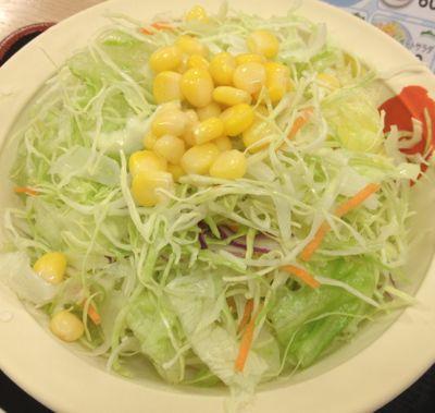 松屋 野菜サラダ