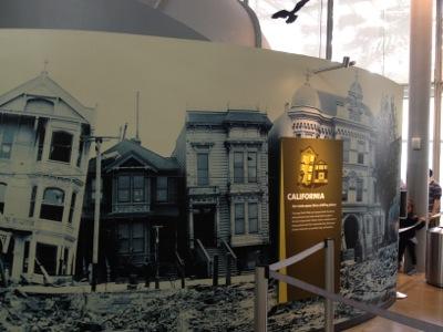 カリフォルニア大地震体験コーナー