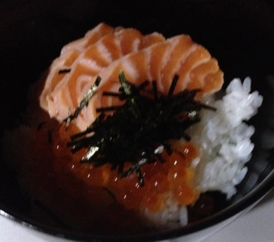 鮭いくら丼