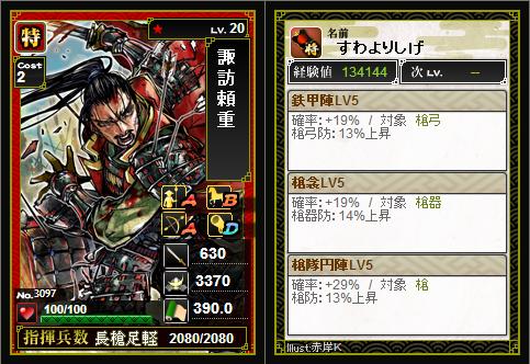 部隊編成 - 戦国IXA02
