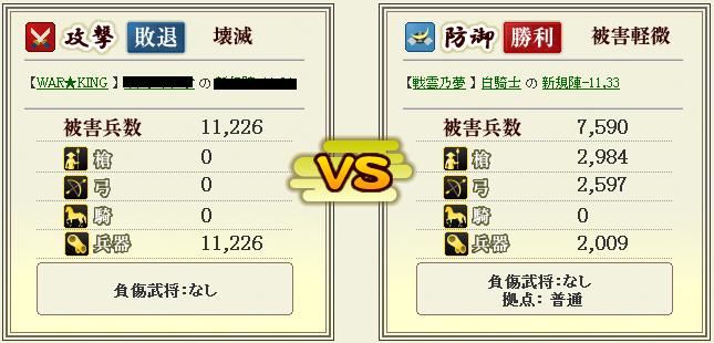 合戦状況報告書 詳細 - 戦国IXA20131129_01