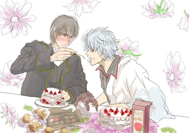 ケーキ食べ2