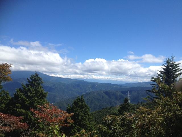 萩原 御前山 山頂