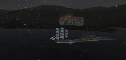 バルト海 雪
