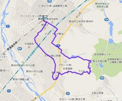 近江富士登山