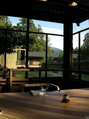 朝の翠松園