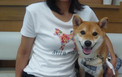 花柴Tシャツ♪