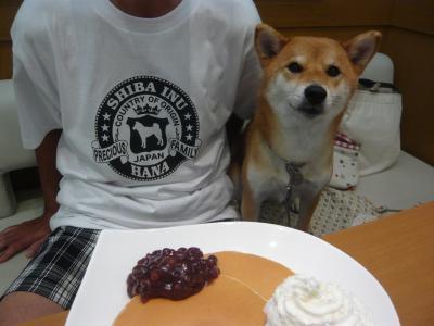 小倉パンケーキ♪