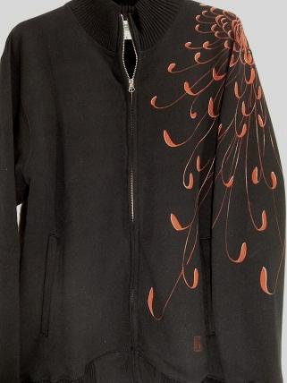 菊 ジップジャケット 2011129121