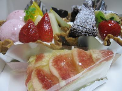 次男の誕生日ケーキ
