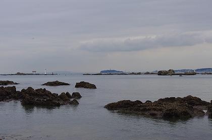 遠くの江ノ島