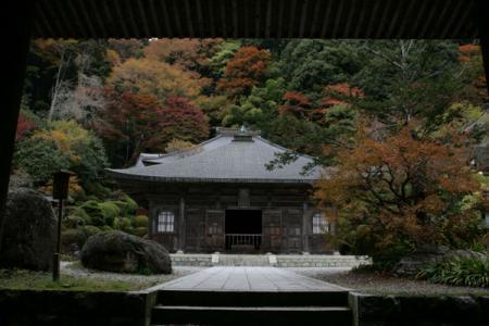 雲巌寺の秋
