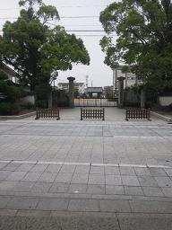 大樹寺から岡崎城を眺める