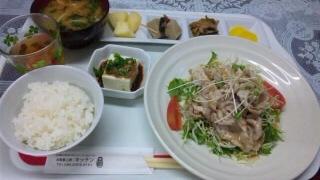 豚シャブサラダ定食