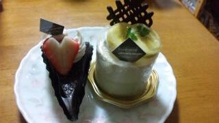 翔くんのお祝いケーキ
