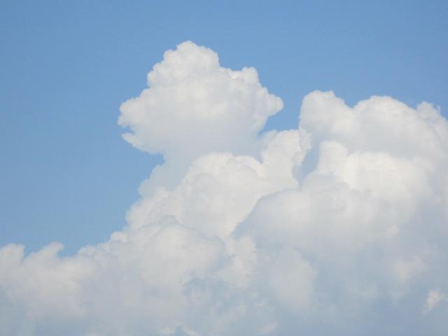 雲アップその1♪