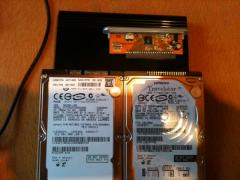 old and new hdd