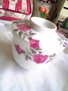 薔薇の茶碗蒸茶碗