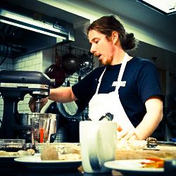 Chef Wolfgang Murber