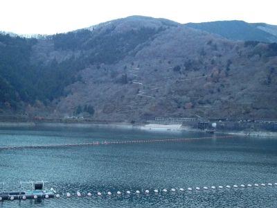 12月1日奥多摩湖
