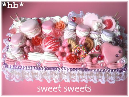 sweet sweets pink lace10