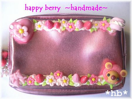 berry bear 08.8 コスメポーチ
