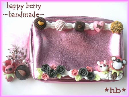 berry bear 08.11 コスメポーチ